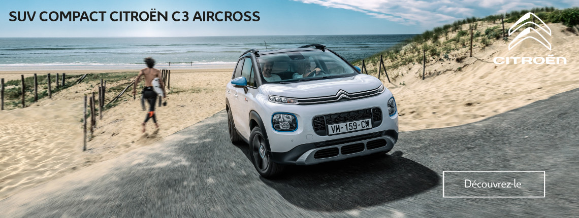 Citroën C3 Aircross - Informations