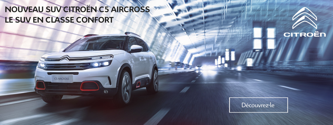 Citroën C5 Aircross - Informations