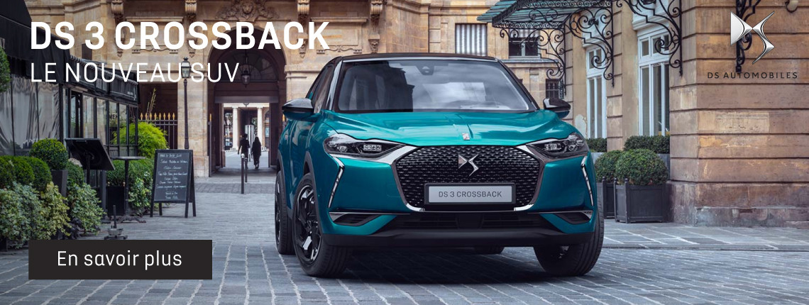 DS 3 Crossback - Informations