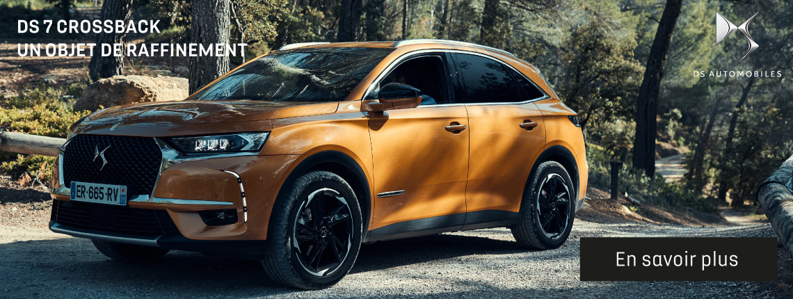 DS 7 Crossback - Informations